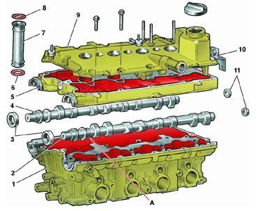 головка ВАЗ - 2112